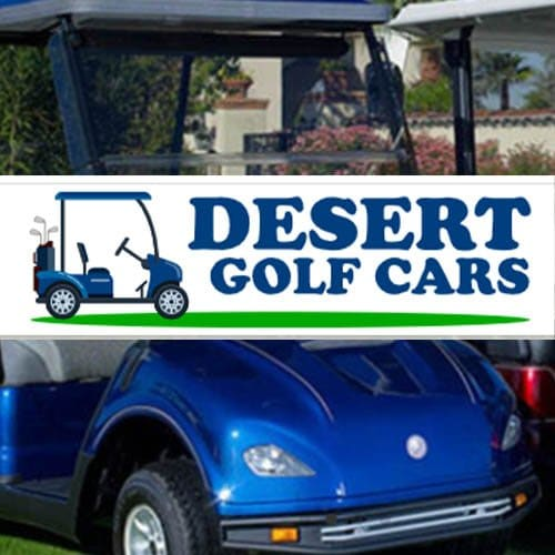 Desert Golf Cars