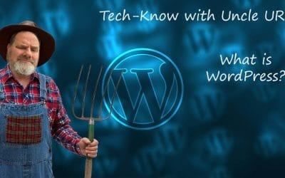 Uncle URL asks: What is WordPress?
